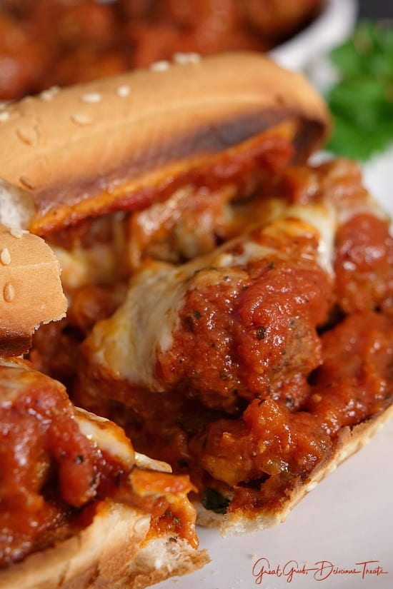 Homemade Meatball Sub