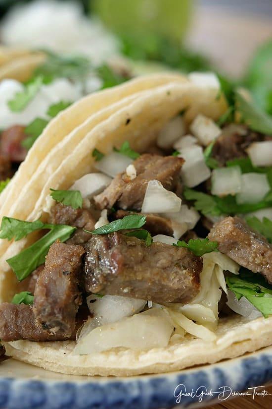 Rib Eye Street Tacos