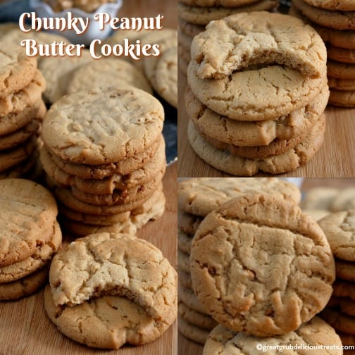Chunky Peanut Butter Cookies