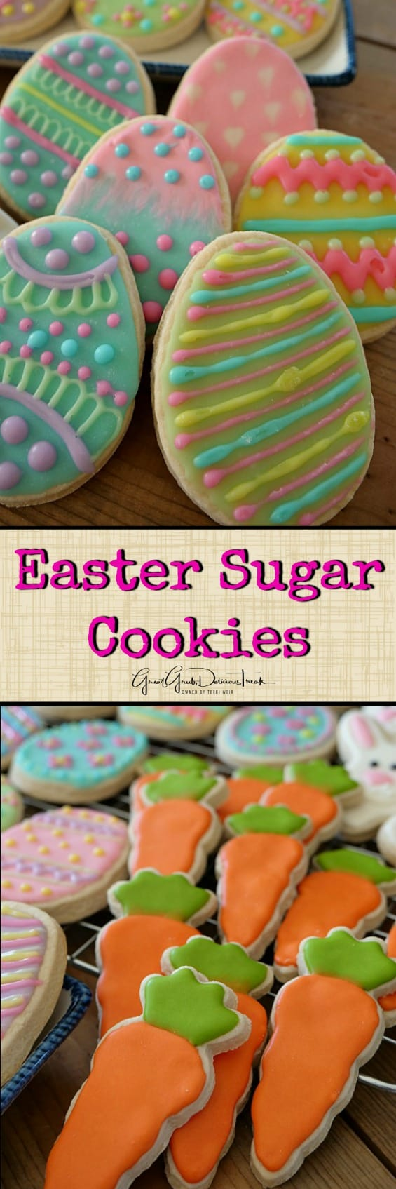 Easter Sugar Cookies