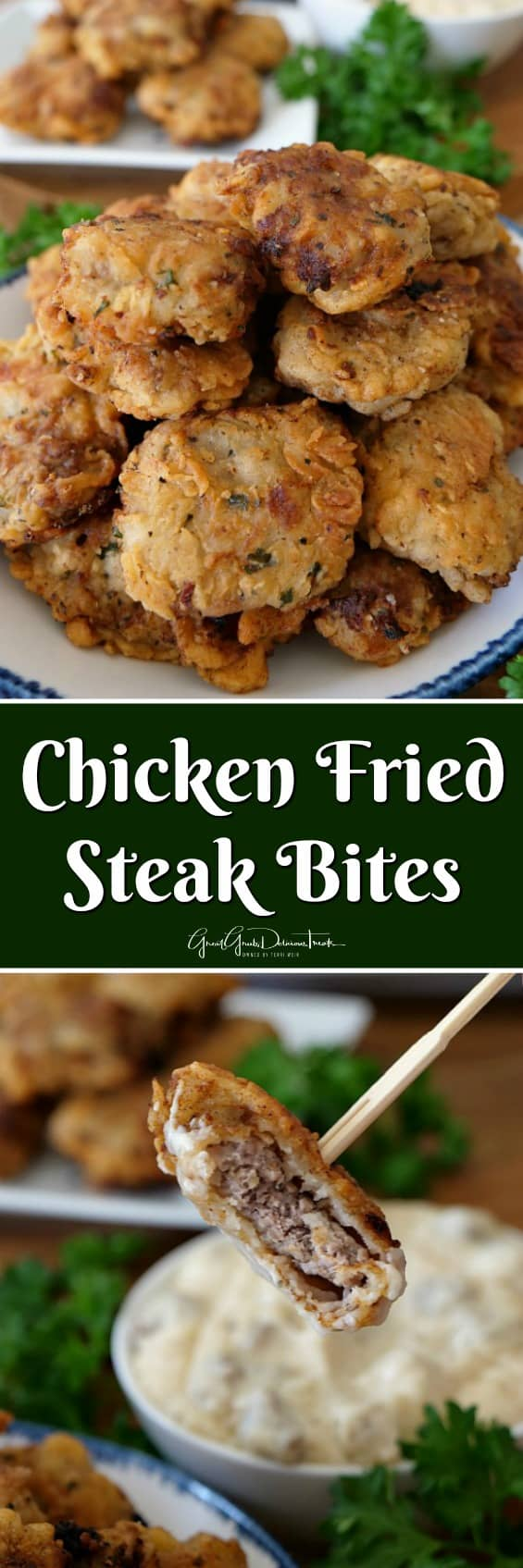 Chicken Fried Steak Bites