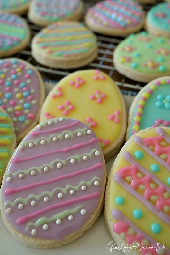 Easter Sugar Cookies Great Grub Delicious Treats