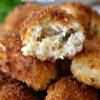 Cheesy Jalapeno Cream Cheese Tots
