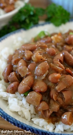 Crock Pot Spicy Beans with Rice