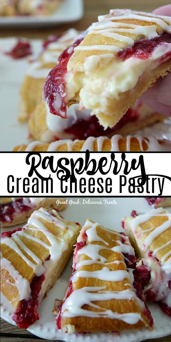 Raspberry Cream Cheese Pastry