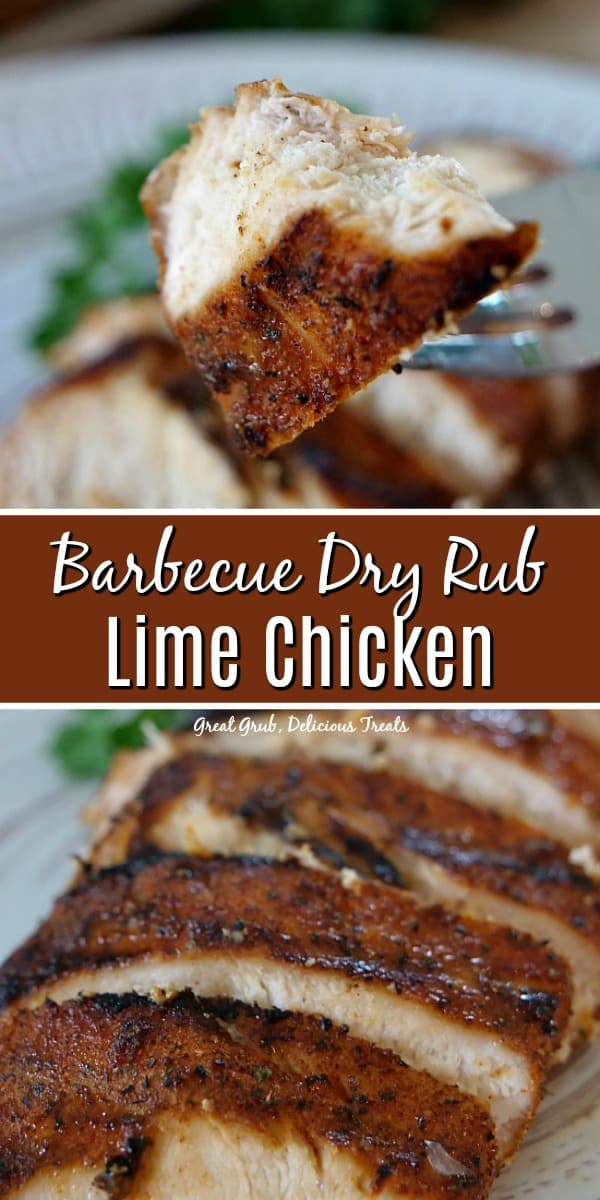 Barbecue Dry Rub Lime Chicken