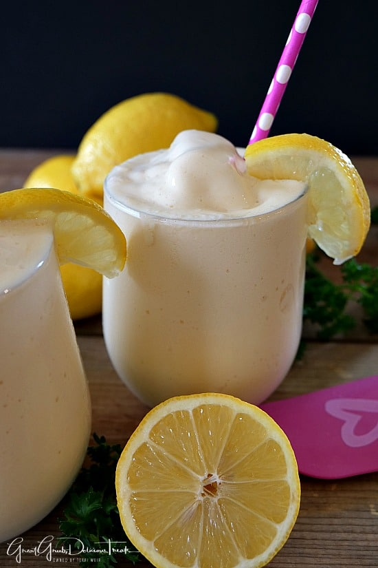 Lemon Frosted Lemonade