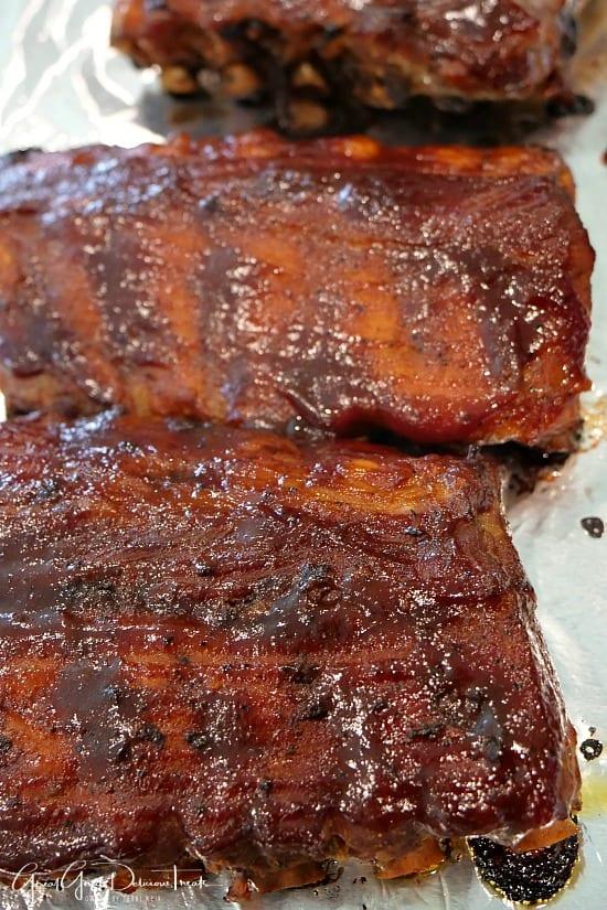 Instant Pot Pork Baby Back Ribs