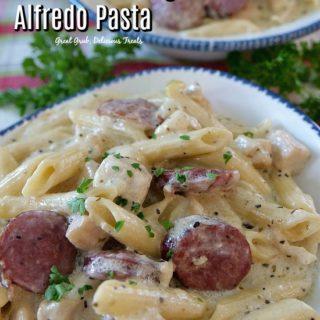 Instant Pot Chicken Sausage Alfredo Pasta