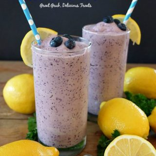 Blueberry Frosted Lemonade