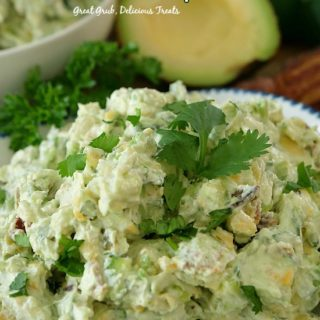Avocado Bacon Cream Cheese Dip
