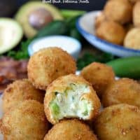 Cream Cheese Avocado Bacon Bites
