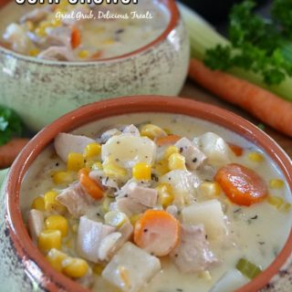 Hearty Turkey Corn Chowder