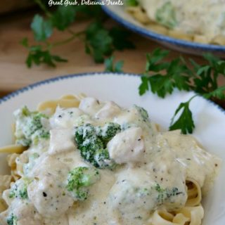 Chicken Broccoli Fettuccine Alfredo