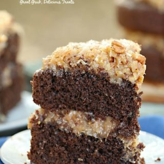 German Chocolate Cake is a moist and delicious cake.