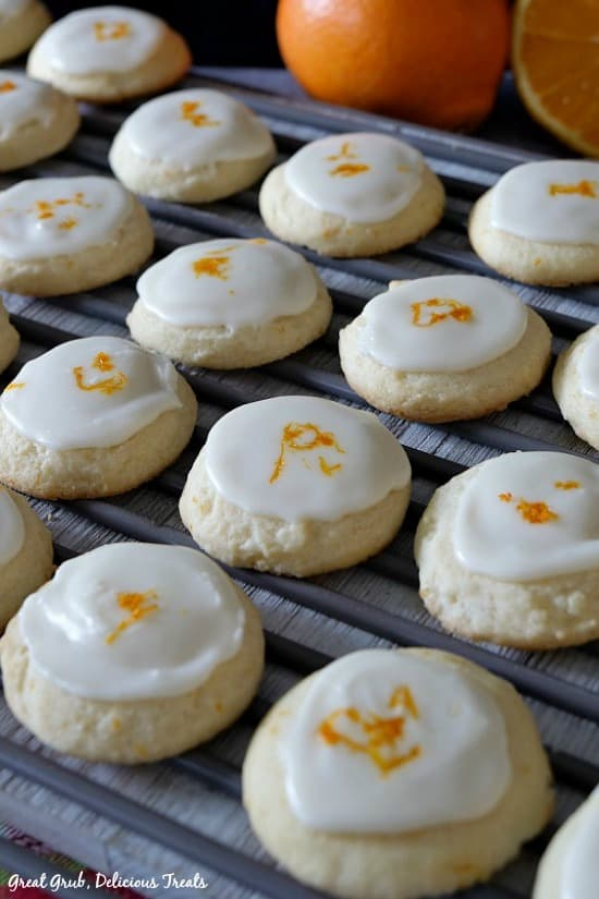 Orange Meltaway Cookies are easy to make, delicious and super soft with orange flavor.