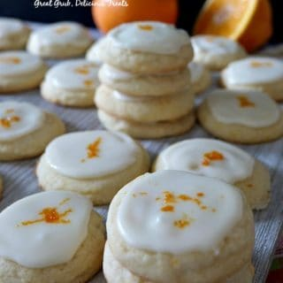 Orange Meltaway Cookies are melt-in-your-mouth delicious.