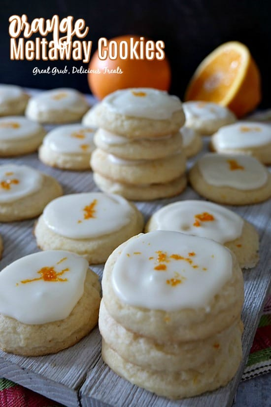 Orange Meltaway Cookies are melt-in-your-mouth delicious, with the subtle flavor of orange in these delicious cookies.
