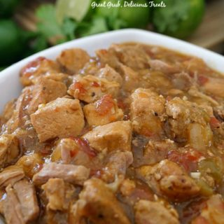 Crock Pot Boneless Pork and Rice is a delicious crock pot meal, loaded with deliciously seasoned pork and served over rice.