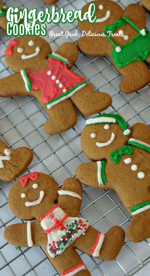 Gingerbread Cookies are a traditional Christmas cookie and a family favorite.