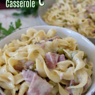 One Pot Ham and Noodle Casserole