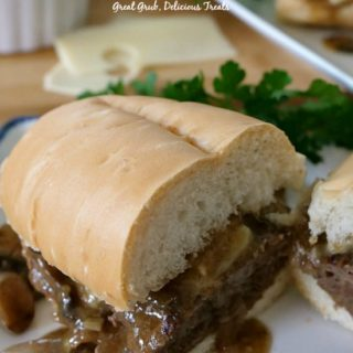 Salisbury Steak Sandwiches