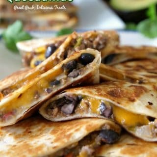 Ground Beef Quesadillas