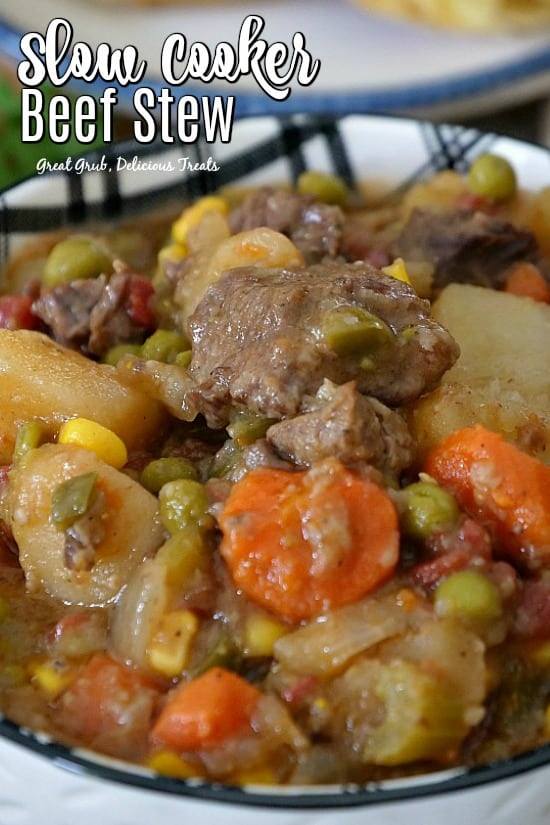 Slow Cooker Beef Stew Great Grub Delicious Treats