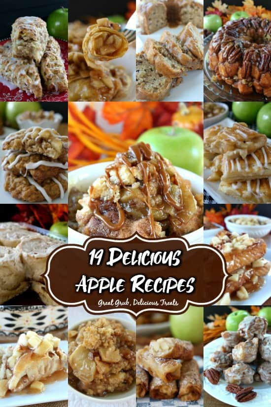 19 different apple recipes