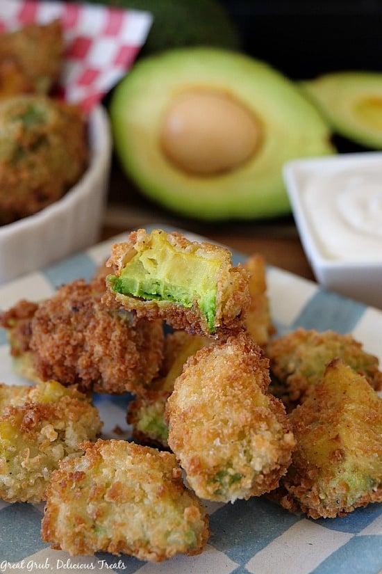 Crispy Fried Avocado Bites